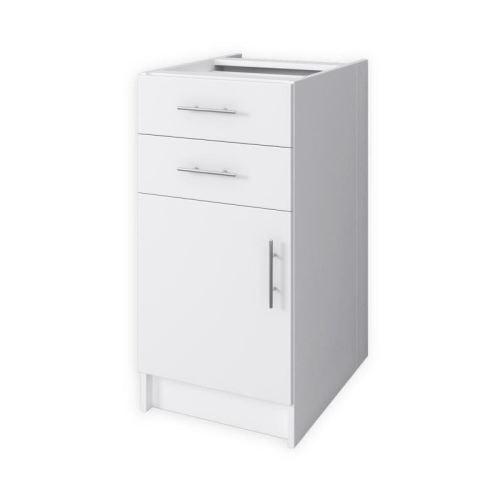 OBI Meuble bas de cuisine L 40 cm - Blanc mat