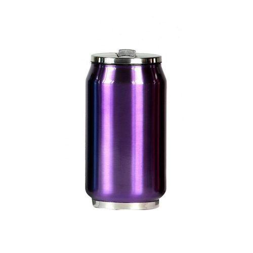 Mug canette isotherme inox 280 ml - Violet