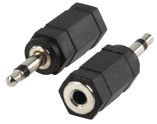 Valueline Ac-002 Adaptateur Plug 3.5 mm Mono Plug - 3.5 mm Stereo Kontra Plug