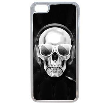 Coque Tete De Mort Swag Casque De Musique Compatible Iphone 7 Transparent