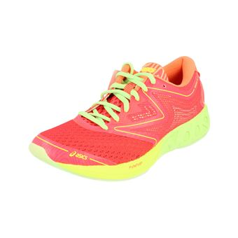 Asics Noosa FF Womens Running Trainers T772N Sneakers Shoes (uk 7 us 9 eu 40 12, pink green melon 2087)