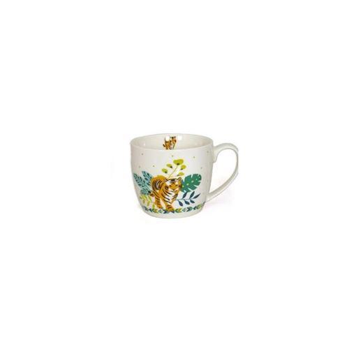 Mug Tigre - 380 ml - Blanc
