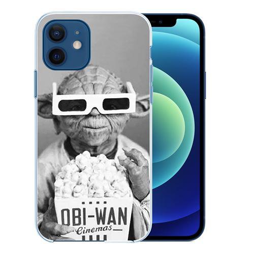 Coque pour iPhone 12 mini - Star Wars Yoda Cinéma
