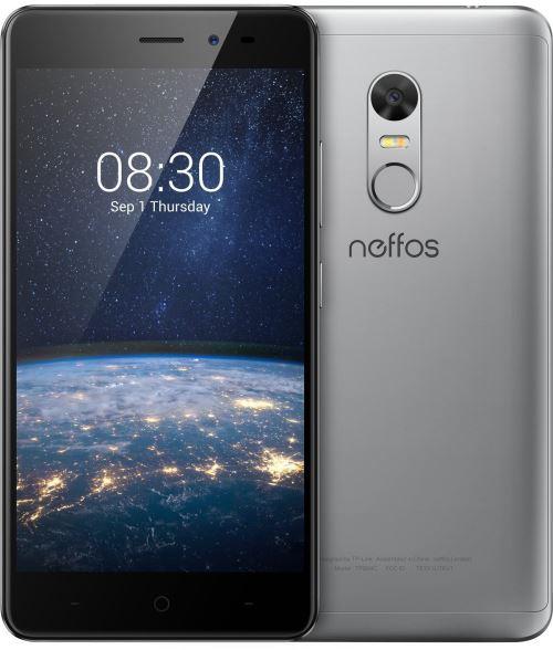 Neffos X1 Lite Smartphone débloqué 4G (Ecran : 5 pouces - 16 Go - Double Nano-SIM - Android 7.0) Gris ciel