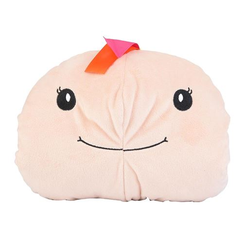 Oreiller Coton de Main Chaude Dessin Animé Mignon Confortable pour Bébé Enfant en Hiver (tortue)