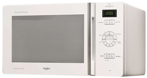 Whirlpool MCP345WH - Four micro-ondes grill - pose libre - 25 litres - 800 Watt - blanc
