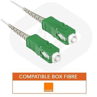 Cable Fibre Optique Livebox Orange 5m Cables Reseau Achat Prix Fnac