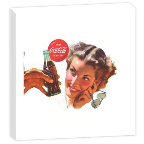 Cadre Fabriqué en France Coca-Cola