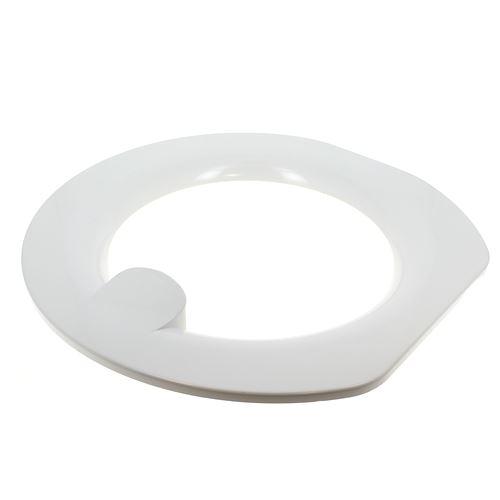 Cerclage hublot exterieur blanc pour Lave-linge Kenwood, Lave-linge Brandt, Lave-linge Proline, Lave-linge Vedette, Lave-linge Fagor