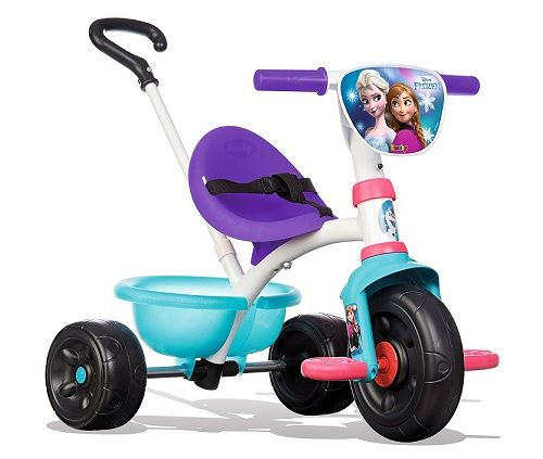 Disney frozen - tricycle be move smoby reine des neiges - dès 15 mois