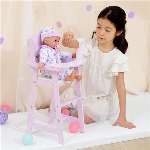 Olivias mobilier chaise haute poupon poupée jeu d'imitation jouet TD-0098AP