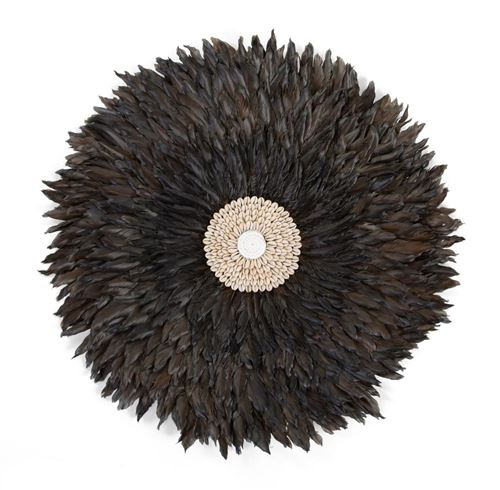 CHILDHOME Juju Feathers Decoration Murale 50cm Anthracite