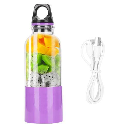 Presse-agrumes Électrique 500ML Fruits Légumes Tasse USB - Violet