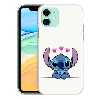 Coque pour iPhone 11 - Stitch Amoureux