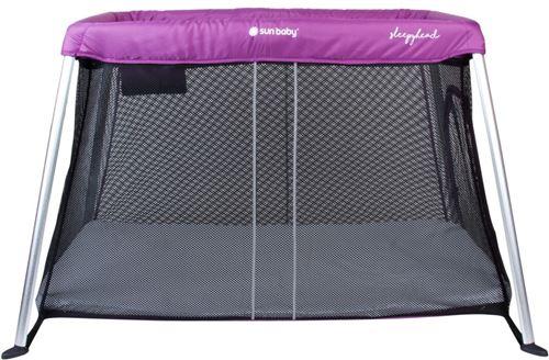 CHIC - Lit Parapluie 2en1 - Lit de voyage Bébé/enfant - Fonction violet noir