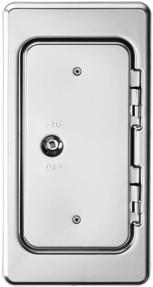 Upmann Grille 10210 Porte de cheminée K11 SV 11 x 25 Impression