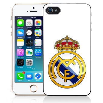 Coque pour iPhone 5C logo real madrid
