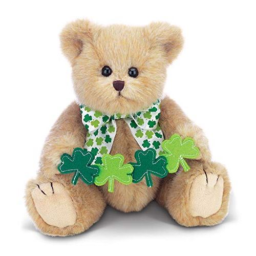 Bearington Conner Clovers Irish Plush Stuffed Animal Teddy Bear 10