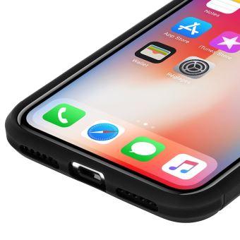 coque silicone iphone xs souple carbone