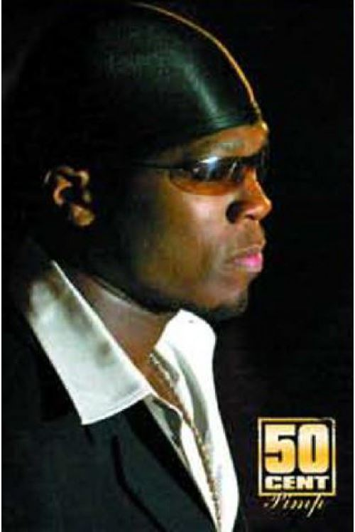 50 Cent Poster From Pieces To Weight 91x61 cm