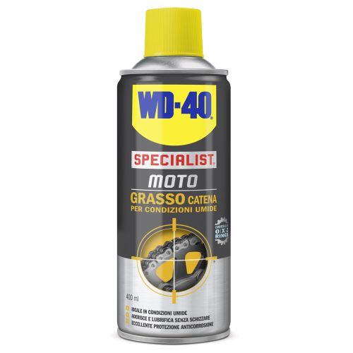 Graisse chaîne spray 400 ml conditions humides WD40