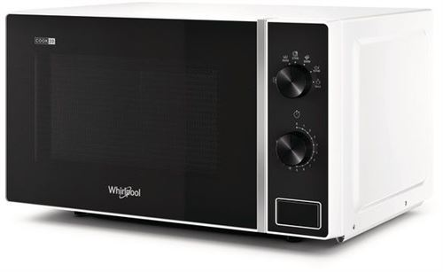 Micro-ondes pose libre 20L WHIRLPOOL 700W 32cm, MWP 101 W