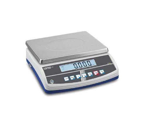 Kern - Balance de table avec déclaration d'approbation à plage double portée max. 3 / 6 kg - GAB6K1DNM