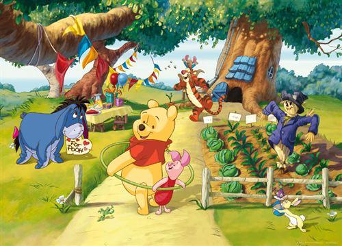 Poster XXL intisse Winnie l'Ourson Anniversaire Disney 160X115 CM