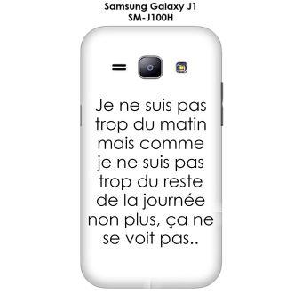 Onozo - Coque Samsung Galaxy J1 - SM-J100H design Citation