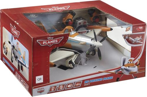 Avion dusty radiocommandee 1.24 rc disney planes - dickie - voiture - rc driving