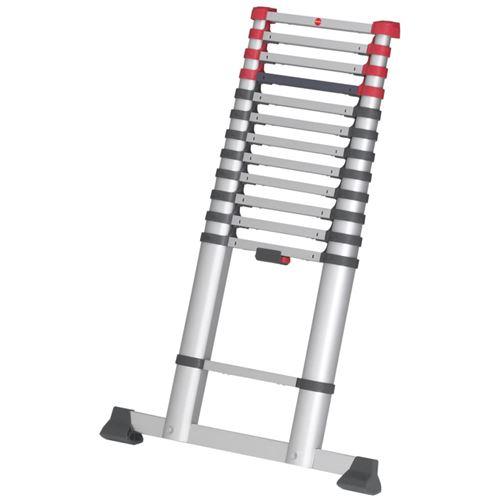 Hailo Échelle télescopique FlexLine 260 380 cm Aluminium 7113-131