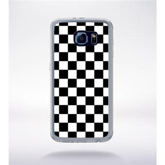coque samsung s6 noir et blanc