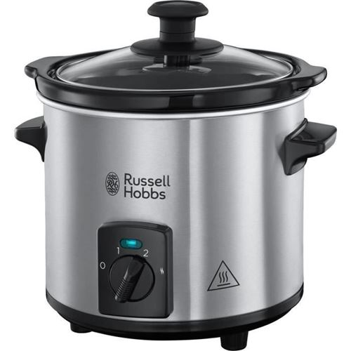Russel Hobbs 25570-56 - Mijoteur Compact Home 2l- Inox Brosse - 145 W