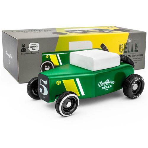 Petites voitures et mini modèles rétro classiques en bois Candylab Outlaw Véhicules design pour enfants et adultes - Southern Belle OTLW-001