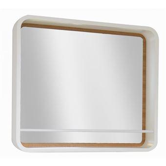 Miroir Salle De Bain Avec Etagere H60 Latta