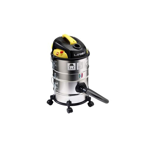 Aspirateur Eau Poussières Cendres 1200W LAVOR 4 en 1 Cuve 28 Litres Modulable + soufflant Filtre lavable