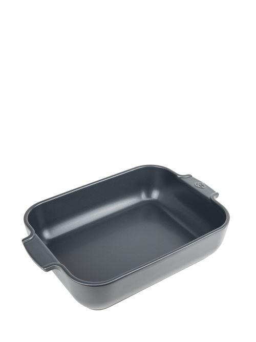 Peugeot - Plat four céramique rectangle ardoise 32 cm - 12,5'