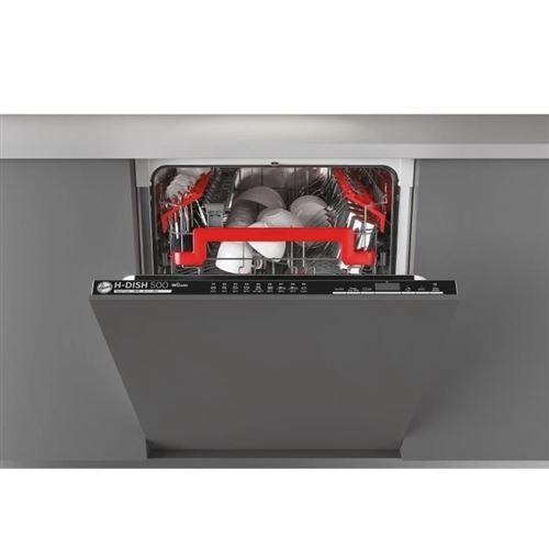 Hoover HDIN 4D620PB - Lave-vaisselle - intégrable - WiFi - largeur : 59.8 cm - profondeur : 55 cm - hauteur : 82 cm - noir