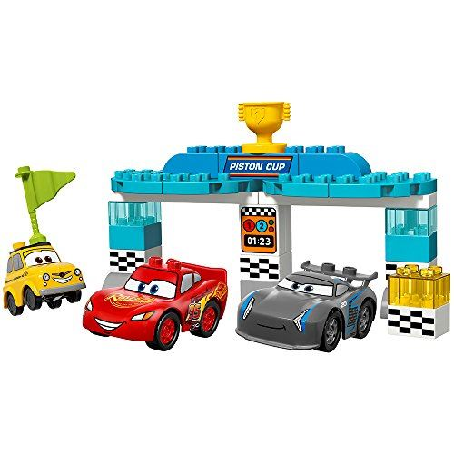 Kit de construction LEGO Duplo Piston Cup Race 10857