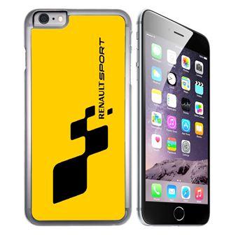 Coque pour iPhone 6 Plus et iPhone 6S Plus renault sport jaune