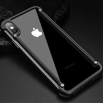 coque iphone x metal