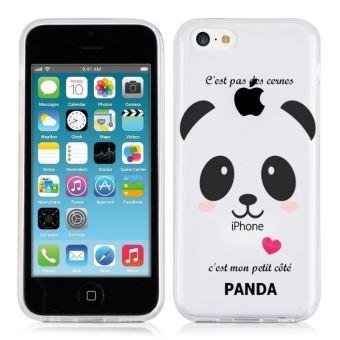 coque iphone 5 panda kawaii