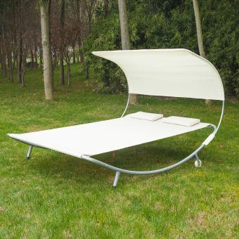 transat bain de soleil design 2 places mobilier de. Black Bedroom Furniture Sets. Home Design Ideas
