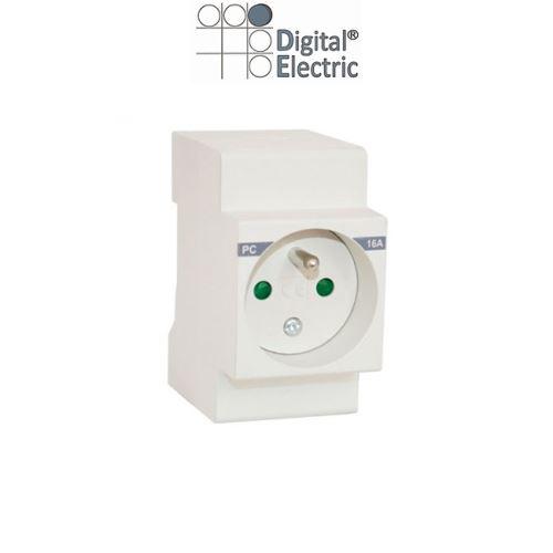 Digital Electric - Prise Modulaire 16A