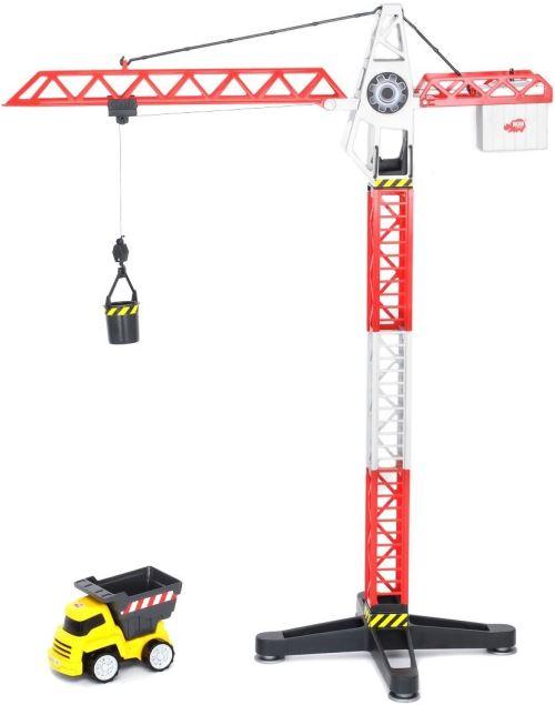 Dickie toys - 203463337 - radio commande véhicule miniature - grue - 67 cm + camion