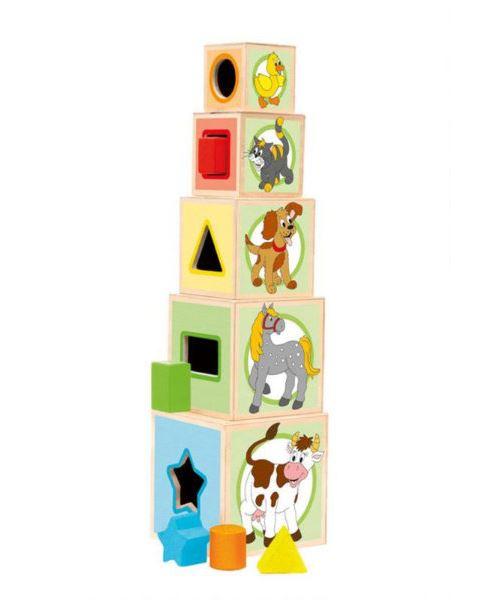 Woody empiler et insérer des blocs 95005