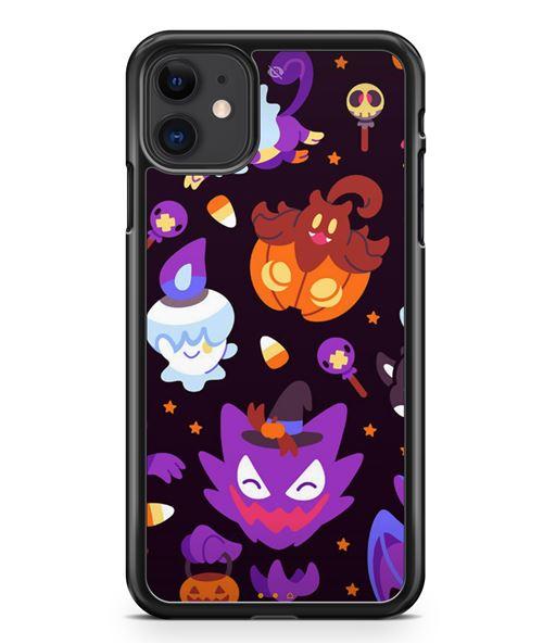 Coque Fifrelin Noire pour iPhone 11 iPhone Pokemon type Spectre Kawaii