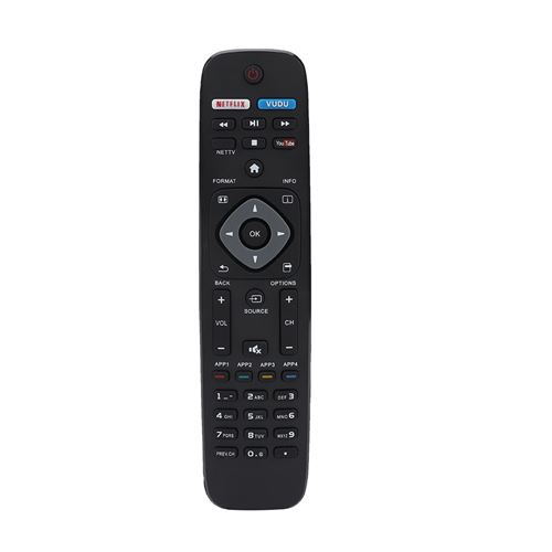 Télécommande Smart TV 4K UHD pour Philips NH500UP / NH500UW