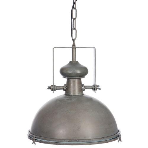 Suspension boule Industriel en métal