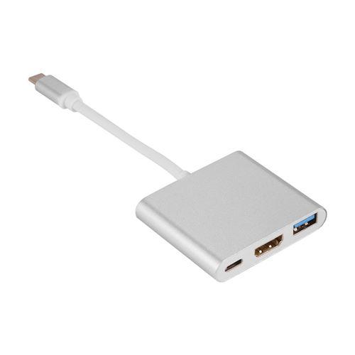 Concentrateur USB Type-c, Concentrateur De Donnée USB 3.0 Sortie HDMI 4K pour Macbook Pro TH704